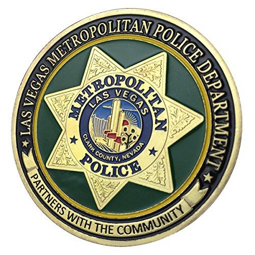Las Vegas Metropolitan Police Department / LVMPD G-P Challenge coin 1148#