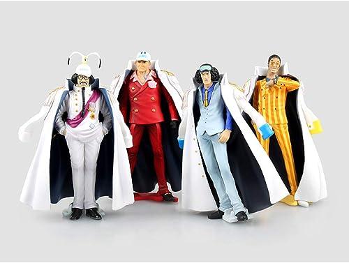 QYLOZ Jouet Figurine Jouet Modèle Anime Personnage Artisanat Décorations Cadeau d'anniversaire   4 Combinaison 13CM