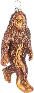 Robert Stanley Bigfoot Sasquatch Blown Glass Ornament for Christmas Tree