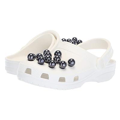 Crocs Classic Timeless Clash Pearls Clog (Black/White) Clog Shoes