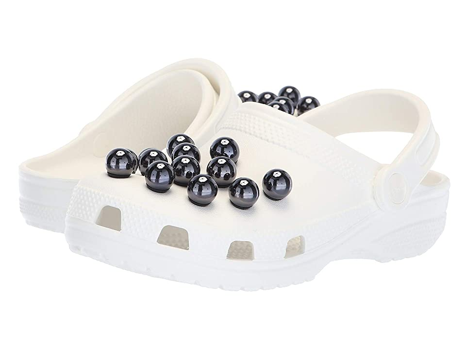 Crocs Classic Timeless Clash Pearls Clog (Black/White) Clog Shoes