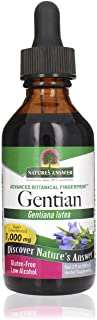 Nature's Answer Gentian Root | Aids in Digestion & Liver Health| Made with Low Alcohol | Gluten-Free, Non-GMO & Kosher Cer...
