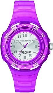 Timex Girls' TW5M06600 Year-Round Analog Quartz Purple Watch