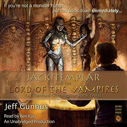 Jack Templar and the Lord of the Vampires audiobook cover art
