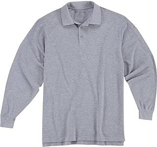 Men's Utility Long Sleeve Polo Shirt