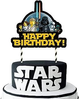 Cake Topper Figure Decoration Birthday STAR WARS Decoration Set