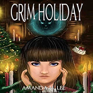 Grim Holiday audiobook cover art