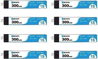 プロランキングBETAFPV8個PH2.0300mAh1Sリポバッテリー30C4.35V ..購入