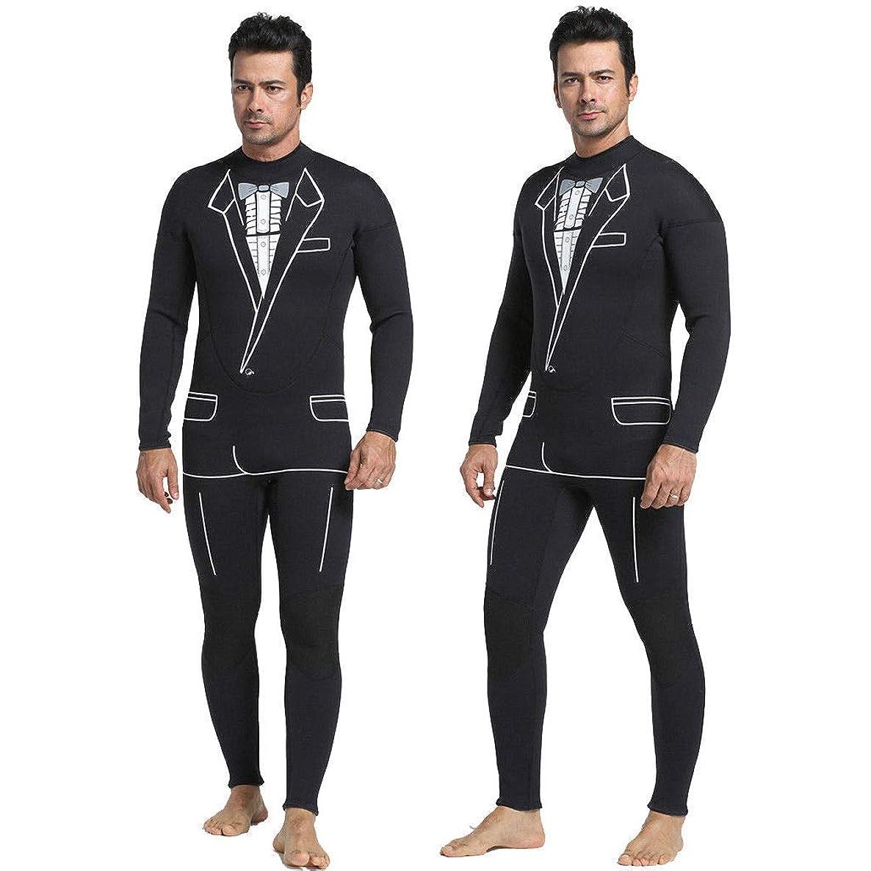 FidgetFidget Back Zip Tuxedo Wetsuit Mens 3mm Black Neoprene Surfing Zipper Surf Wet Suit