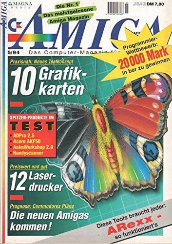 Amiga Nr. 05/1994 Praxisnah: Neues Testkonzept 10 Grafikkarten