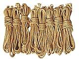 LEX ROPES standard Set Shibari Bondage Juteseil Rope Set 8 teilig je 8 m x 6mm -