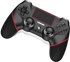 Wireless Controller for Playstation 4 /Pro/Slim/PC RegeMoudal PS4 Controller Built-in Double Motor Vibration and Audio Fun...