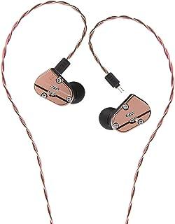 RevoNext QT5 QT2S QT2 RX8S Kabelgebundene Headsets HiFi In Ear Monitore (ohne Mikrofon) (QT5, Kupfer)