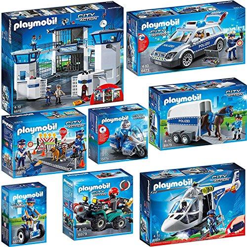 PLAYMOBIL-Polizei-Set (6872; 6873; 6874; 6876; 6877; 6878; 6879)