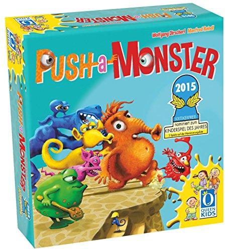 Asmodee - QGPAM01 - Jeu d'ambiance - Push A Monster