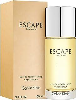 Escape Cologne for Men 3.4 oz Eau de Toilette Spray (Clear Bottle)