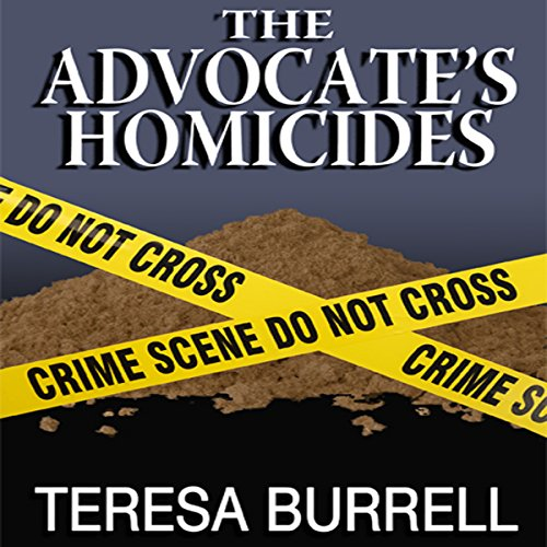 The Advocate's Homicides audiobook cover art