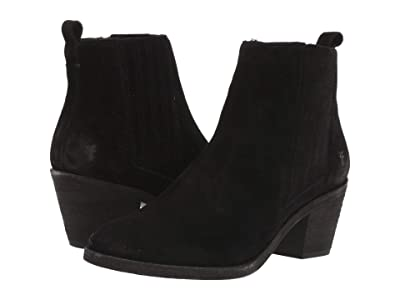 Frye Alton Chelsea (Black Oiled Suede) Women