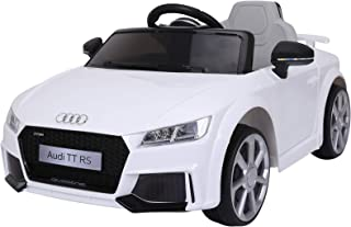 Aosom 6V Audi TT RS Kids Electric Sports Car Ride On Toy One Seat with Remote Control - White