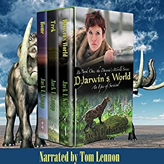 Boxed Set, The Darwin's World Series: Includes Darwin's World, The Trek, and Home                   By:                                                                                                                                 Jack L Knapp                               Narrated by:                                                                                                                                 Tom Lennon                      Length: 33 hrs and 1 min     65 ratings     Overall 4.0