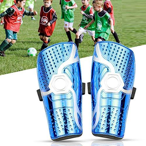 Espinilleras niño Futbol,Espinilleras de fútbol para jóvenes,1 par de Leggins de fútbol Protector de Tobillo de fútbol Ligero y Transpirable para niños de 6 a 12 años