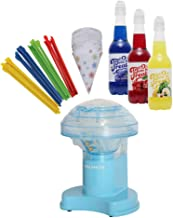 Time for Treats VKP1102 Snow Cone Maker Ice Shaver Gift Pack, Includes 25 Cups &..