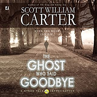 The Ghost Who Said Goodbye audiobook cover art