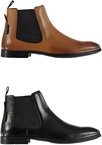 Ben Sherman Lombard Bottes Chelsea Hommes Cheville Coupe Chaussures Chaussures