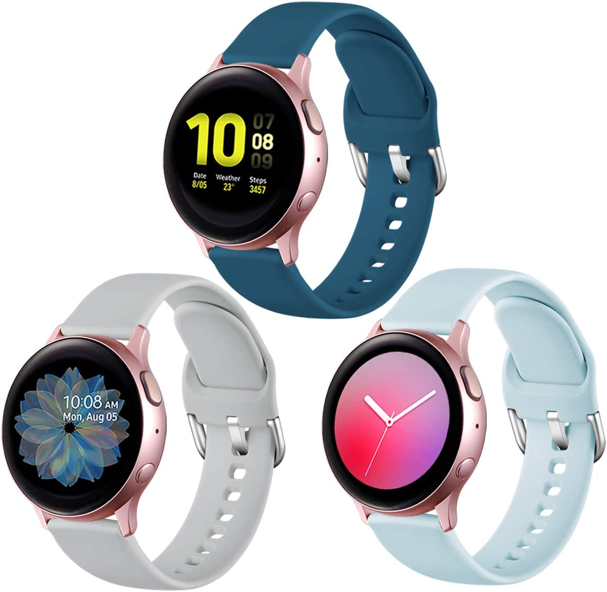 Mallas Para Reloj Galaxy Watch Active 2 40mm 44mm/active