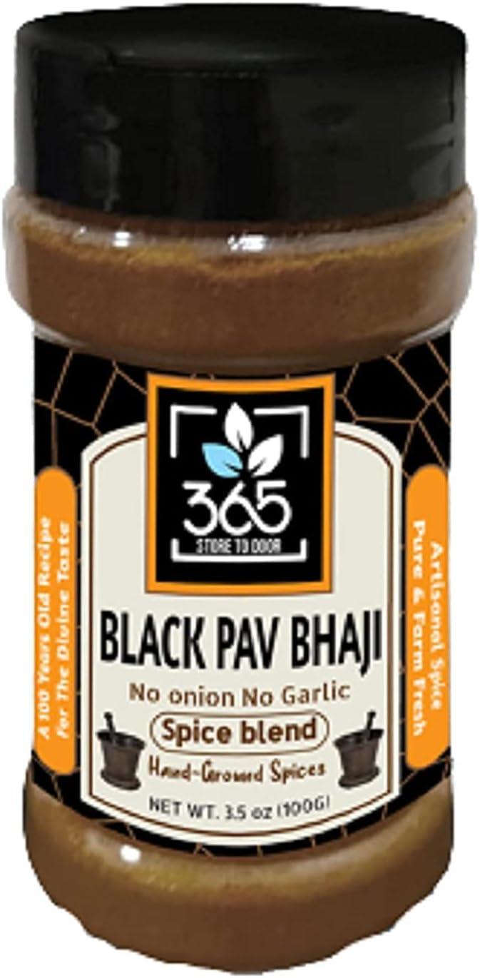 Bluenile 365 STORE TO DOOR Indian Spice Max 40% OFF Cheap Sale 86% OFF Bhaji Pav Black Jain - M