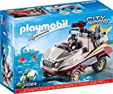 PLAYMOBIL City Action 9364 Amphibienfahrzeug mit Unterwassermotor, Ab 5 Jahren