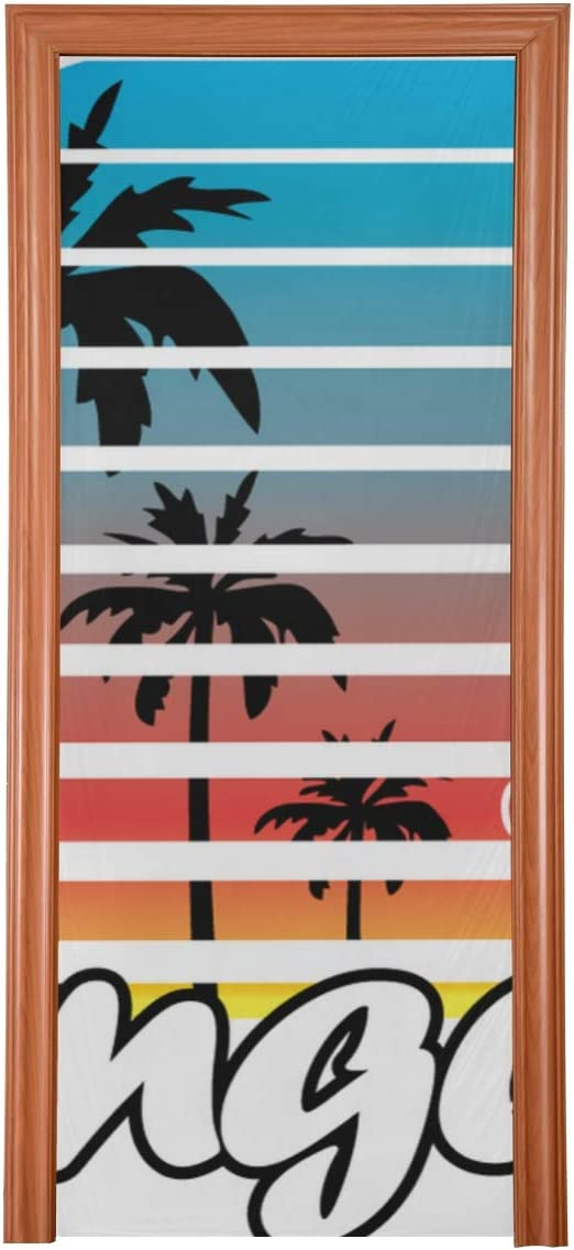 QIYI DoorDecorforRoom Los Angeles Poster Max 62% OFF Hallo Artwork Tshirt Phoenix Mall