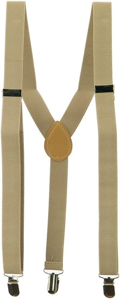 Fashion Suspender - Khaki OSFM