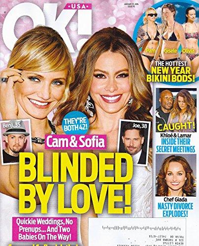 Cameron Diaz & Sofia Vergara * The Hottest New Year Bikini Bods! * Khloe Kardashian & Lamar Odom * Giada De Laurentiis * January 19, 2015 OK! Magazine