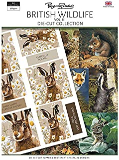 The Paper Boutique Pollyanna Pickering's British Wildlife Volume III Die-Cut Toppers and Sentiments Collection