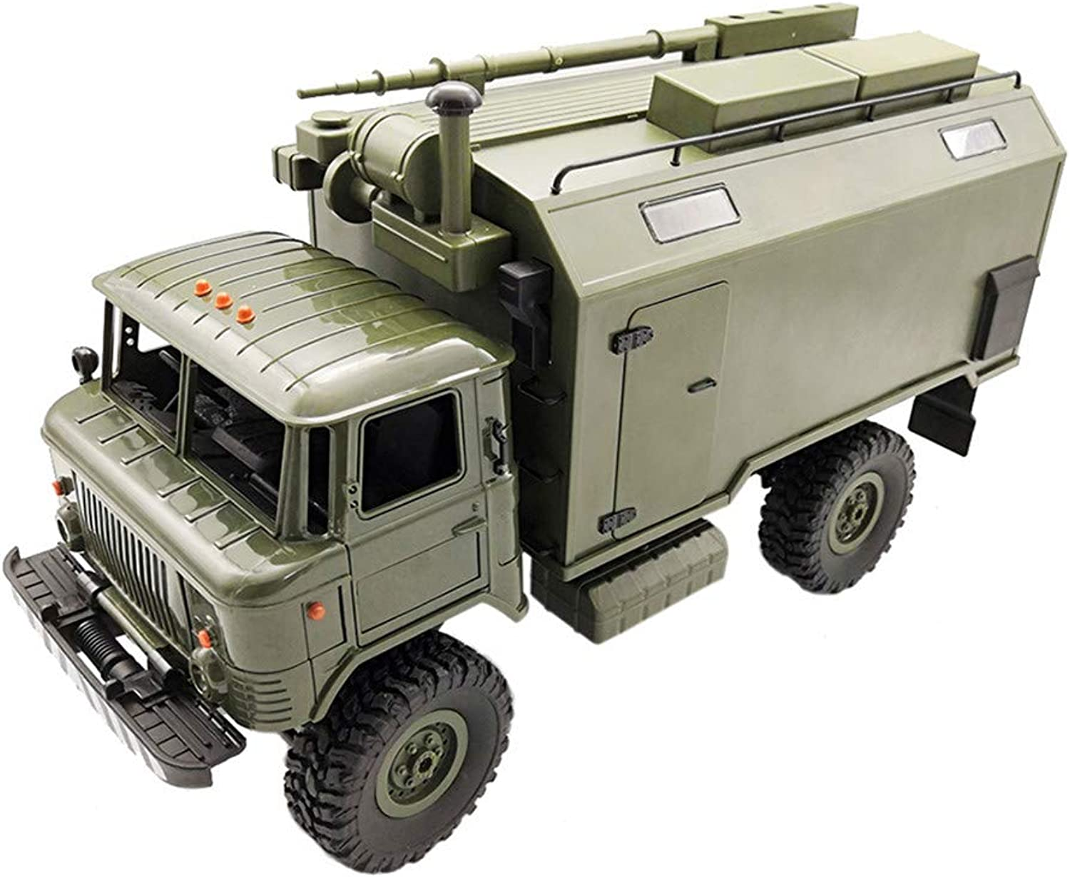 Dapei WPL B24ZH 1 16 2.4G 4WD RC Auto Military Truck OffRoad Rock Crawler RTR green