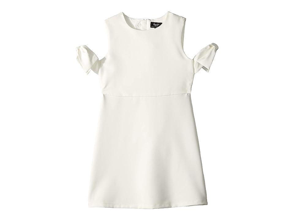 Bardot Junior Iva Shift Bow Dress (Big Kids) (Gardenia) Girl