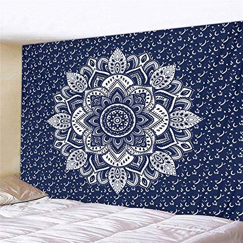 NGHSDO Tapiz Pared Tapices colgados de la Pared de la decoración Manta Estilo de Yoga Dormir tapicería de la Pared Tela Tapices De Pared (Color : CH 7, Size : 100X75CM)