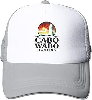 Xuforget Cabo Wabo Logo Adjustable Funny Hat for Men&Women
