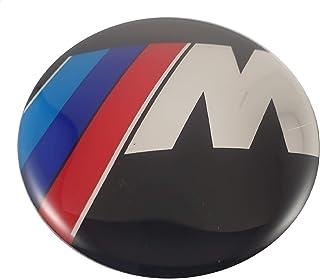 LUDOSTREET ref0001 Logo Embleem Badge Anagram compatibel met BMW 82mm motorkap auto verschillende kleuren (Serie M (A))