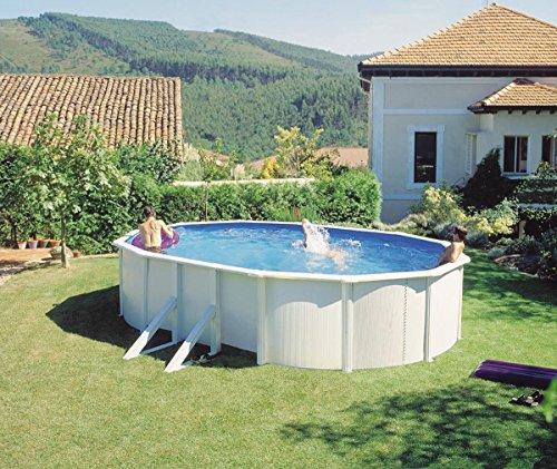 Waterman Ovalformbecken-Set 500 x 300 x 120cm
