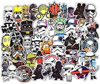 100 Pieces Set PVC Sticker DIY Cartoon Star Wars Stickers for Laptop Car Phone Luggage Bike Stylin