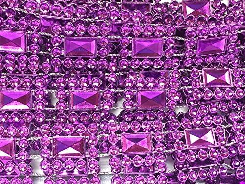Purple Plastic Square Lowest price challenge Trim Trimming Spasm price Craft Cake Multipurpose