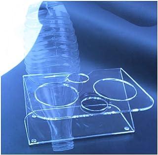 HOKU Holzhäuser Kunststofftechnik Support pour 2 carafes en verre Sodastream