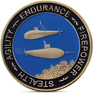 Reinly Commemorative Coin US Stealth Submarine Collection Arts Gifts Souvenir