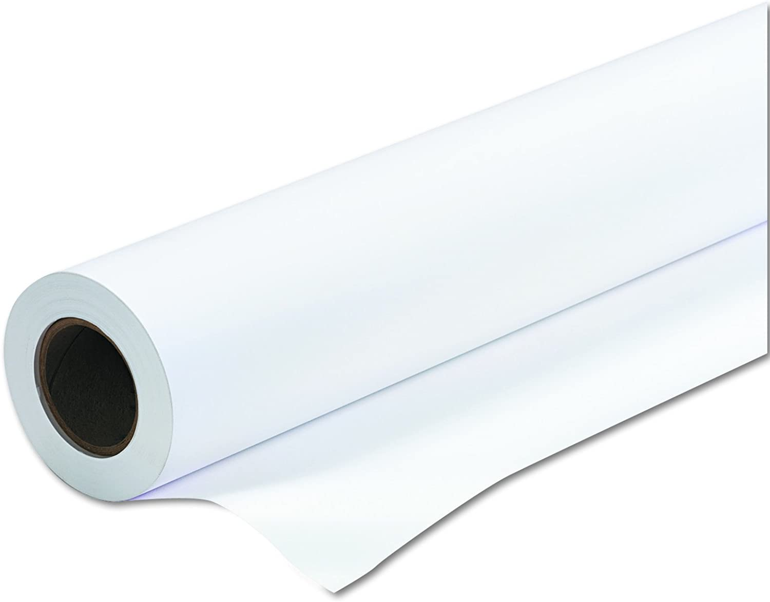 PM Company Perfection Amerigo Check 24 Wide Format Ink Jet Rolls, 24 Inches x 150 Feet, White, 1 Carton (45151)