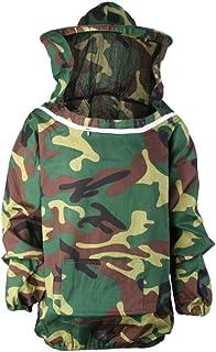FITYLE Professioneller Imker-Anzug Schutzausrüstung Mit Kapuze aus Baumwoll - Grün