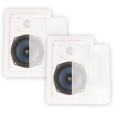 Blue Octave LW52 in Wall Speakers Home Theater Surround Sound 2-Way Speaker Pair