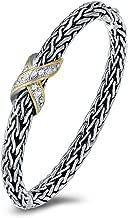UNY Hot Sale Fashion Brand Hardy jewelry Wire Cross Vintage Bangle Elegant Beautiful Mothers day Gift