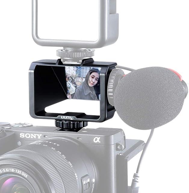 UURig R031 - Espejo con Pantalla para cámara Sony A6000 A6300 A6500 A7III A7II Series para Fujifilm XT2 XT3 XT20 XT30